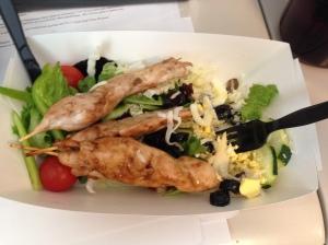 Cafeteria salad